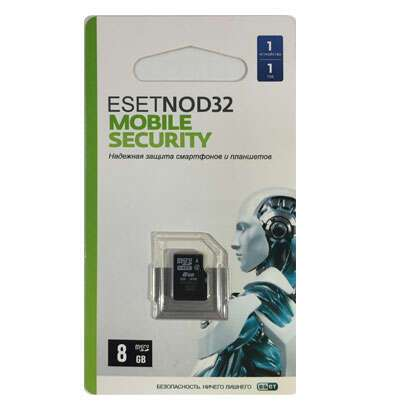 Антивирус ESET NOD32 MicroSD 8GB GOODRAM