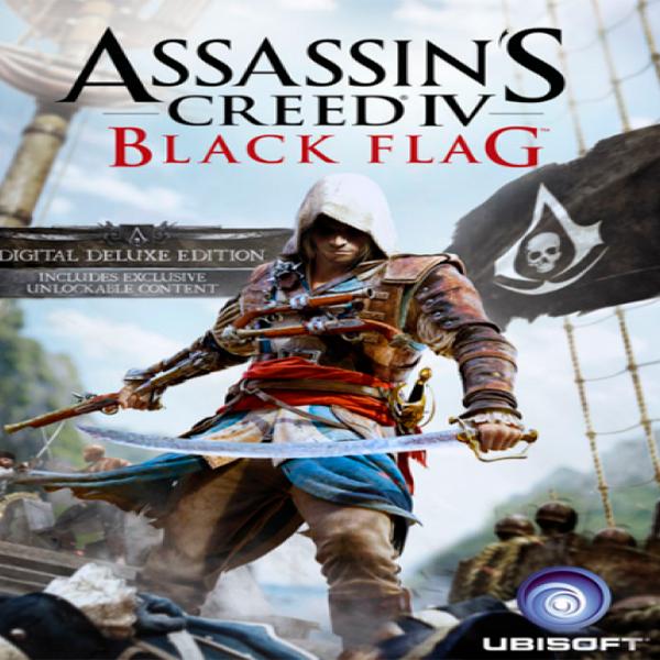 Игра Assassins Creed IV Black Flag Deluxe edition (эл.ключ Ubosoft Store)