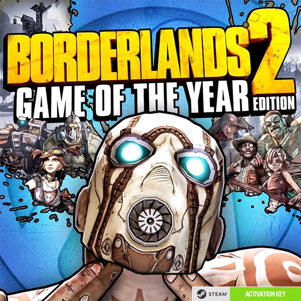 Игра Borderlands 2 Game of the Year Edition (эл.ключ Steam)