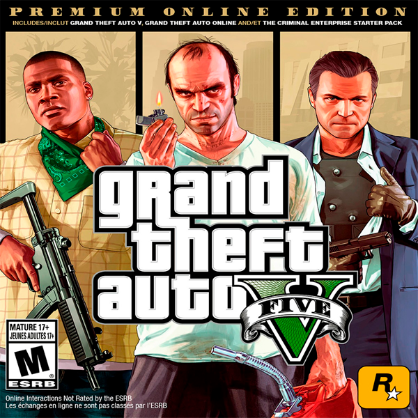Игра Grand Theft Auto V Premium Online Edition (эл.ключ Steam)