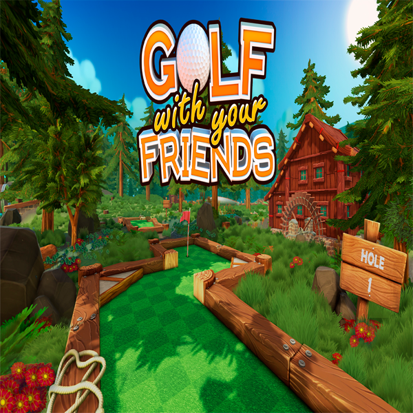 Игра Golf With Your Friends (эл.ключ Steam)
