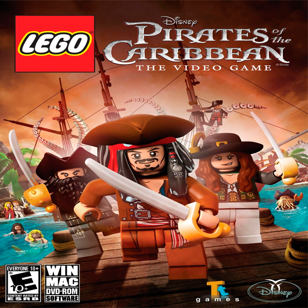 Игра Lego Pirates of the Caribbean (эл.ключ Steam)