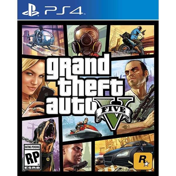 Grand Theft Auto V PS4 Игра PS4
