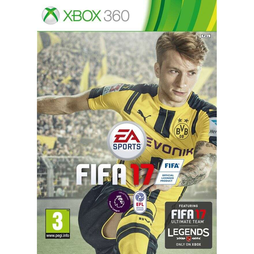 Игра Xbox 360 FIFA 17 (RUS) Xbox 360