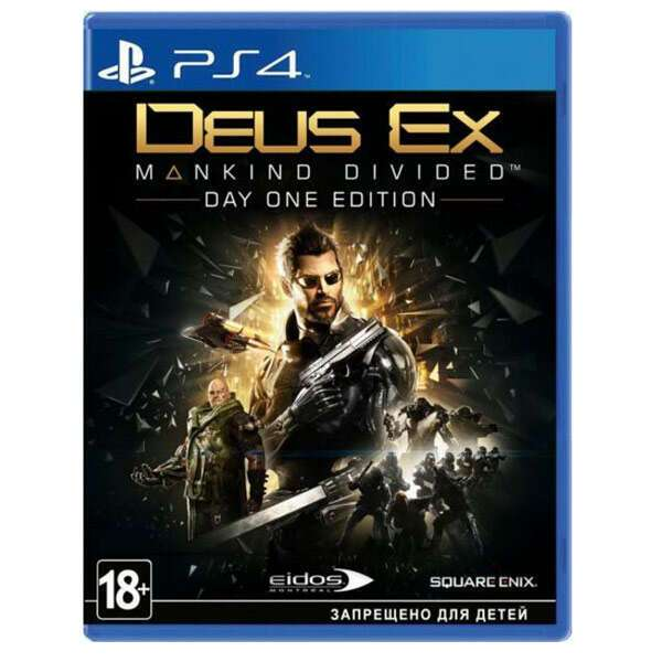 Игра для PS4 Deus Ex Mankind Divided Day One Edition