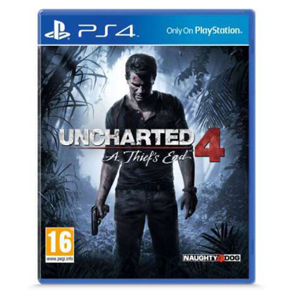 Игра для консоли PS4 Uncharted 4