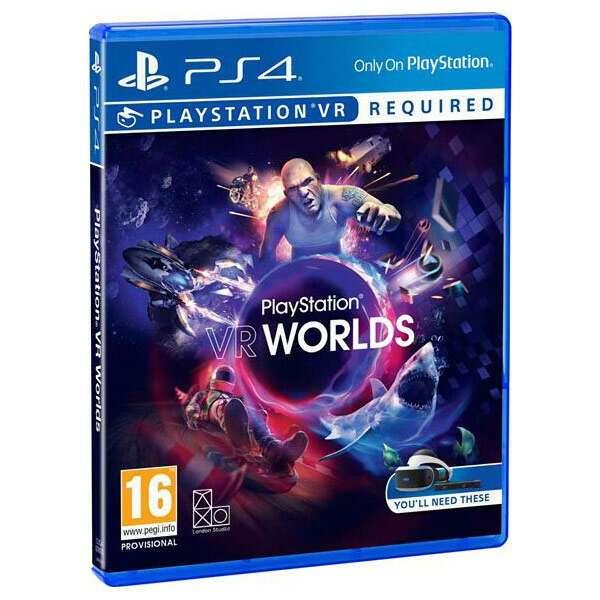 VR Worlds Игра для консоли PS4 Sony