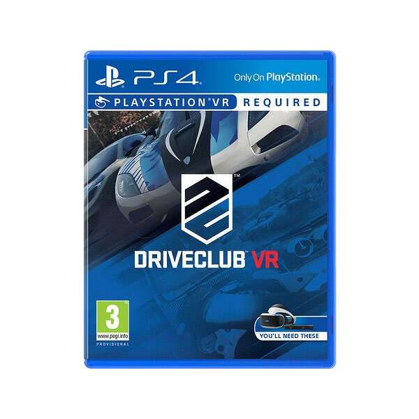 Игра для PlayStation VR Driveclub