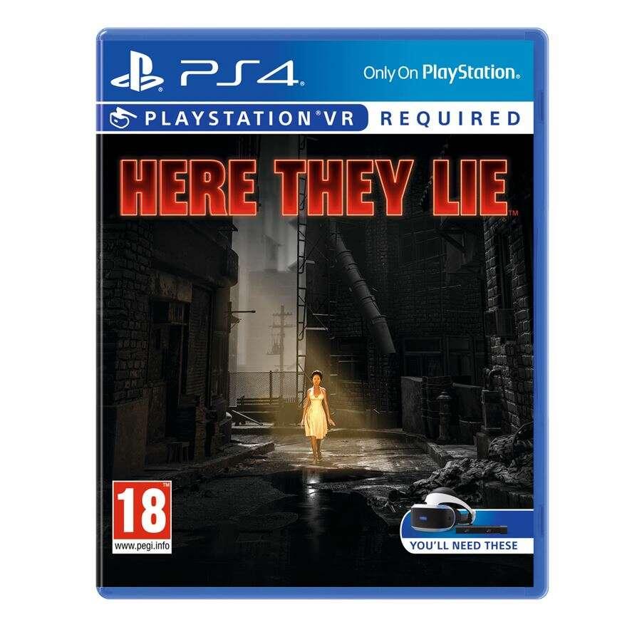 Игра для консоли PS4  Here they Lie (что скрывает тьма)