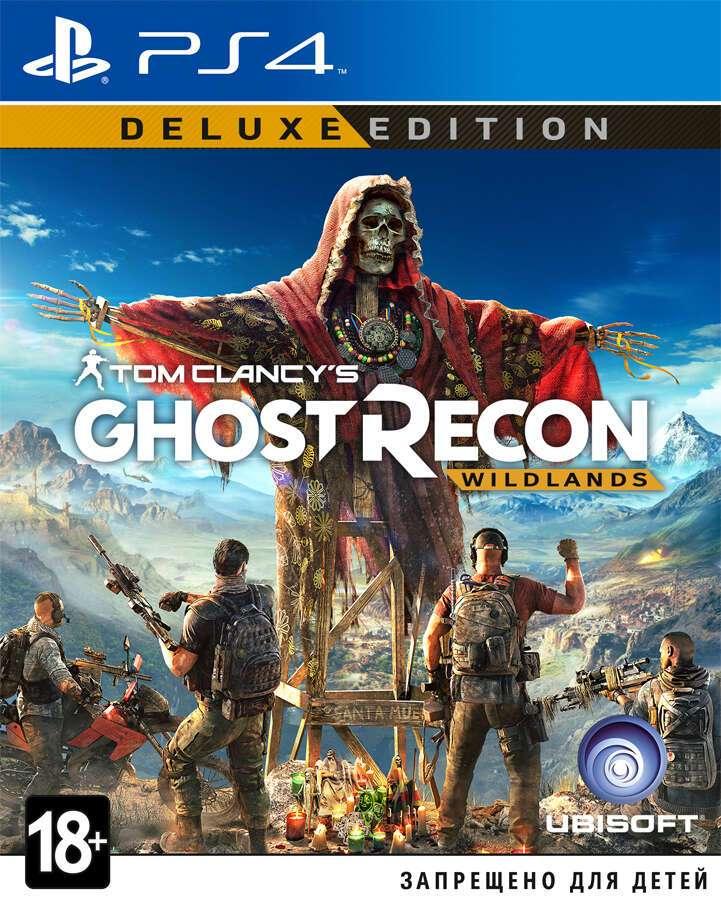 Игра для консоли PS4 Tom Clancy's Ghost Recon Wildlands