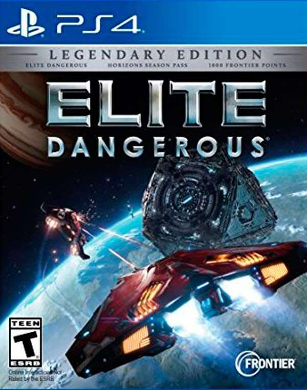 Игра для PS4 Elite Dangerous Legendary Edition
