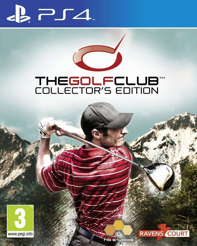 Игра для консоли PS4 The Golf Club Collector's Edition