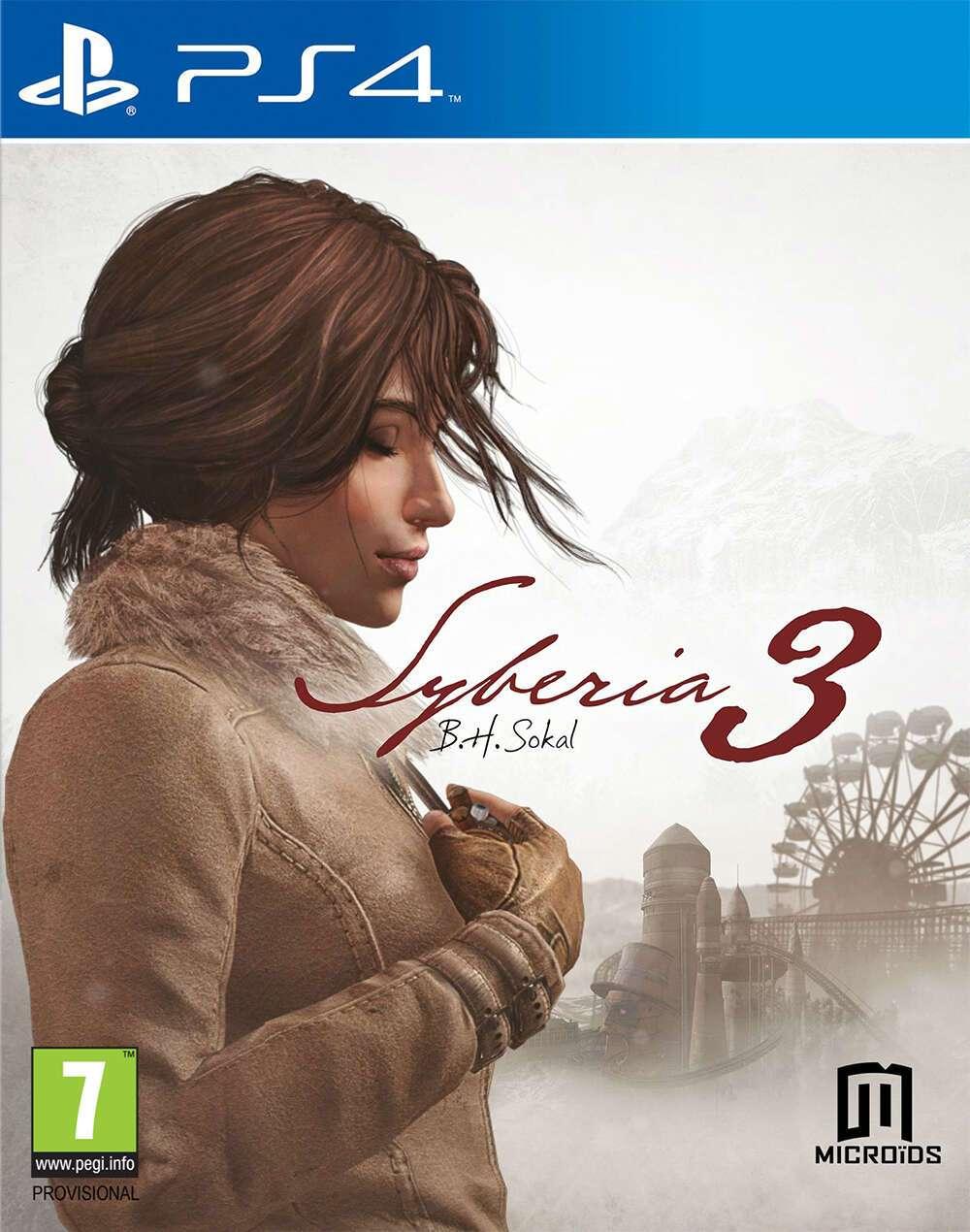 Игра для консоли PS4 Сибирь 3