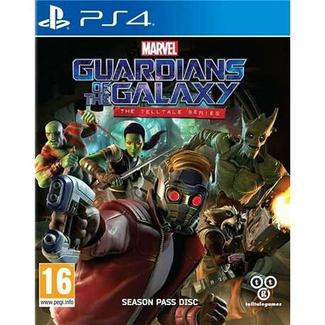 Игра для консоли PS4 Guardians of the Galaxy The Telltale Series