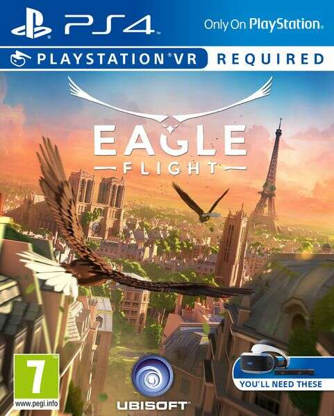 Игра для консоли PS4 Eagle Flight VR
