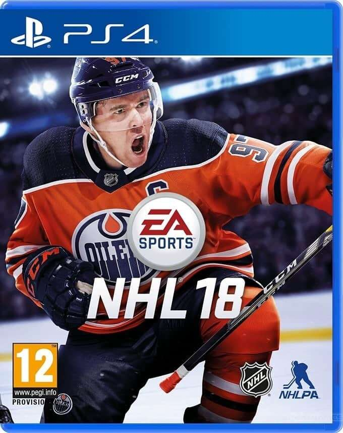 Игра для консоли PS4 NHL18