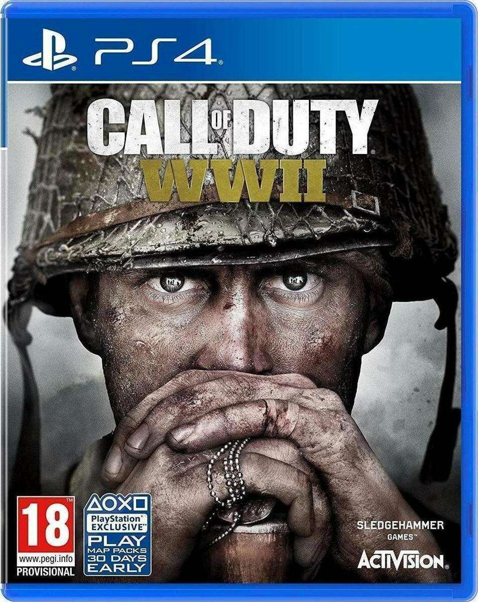 Игра для PS4 Call of Duty WWII