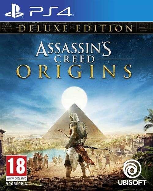 Игра для PS4 Assassin's Creed Origins/Истоки Deluxe Edition