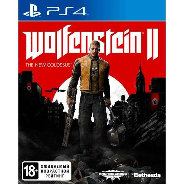 Игра для PS4 Wolfenstein II The New Colossus