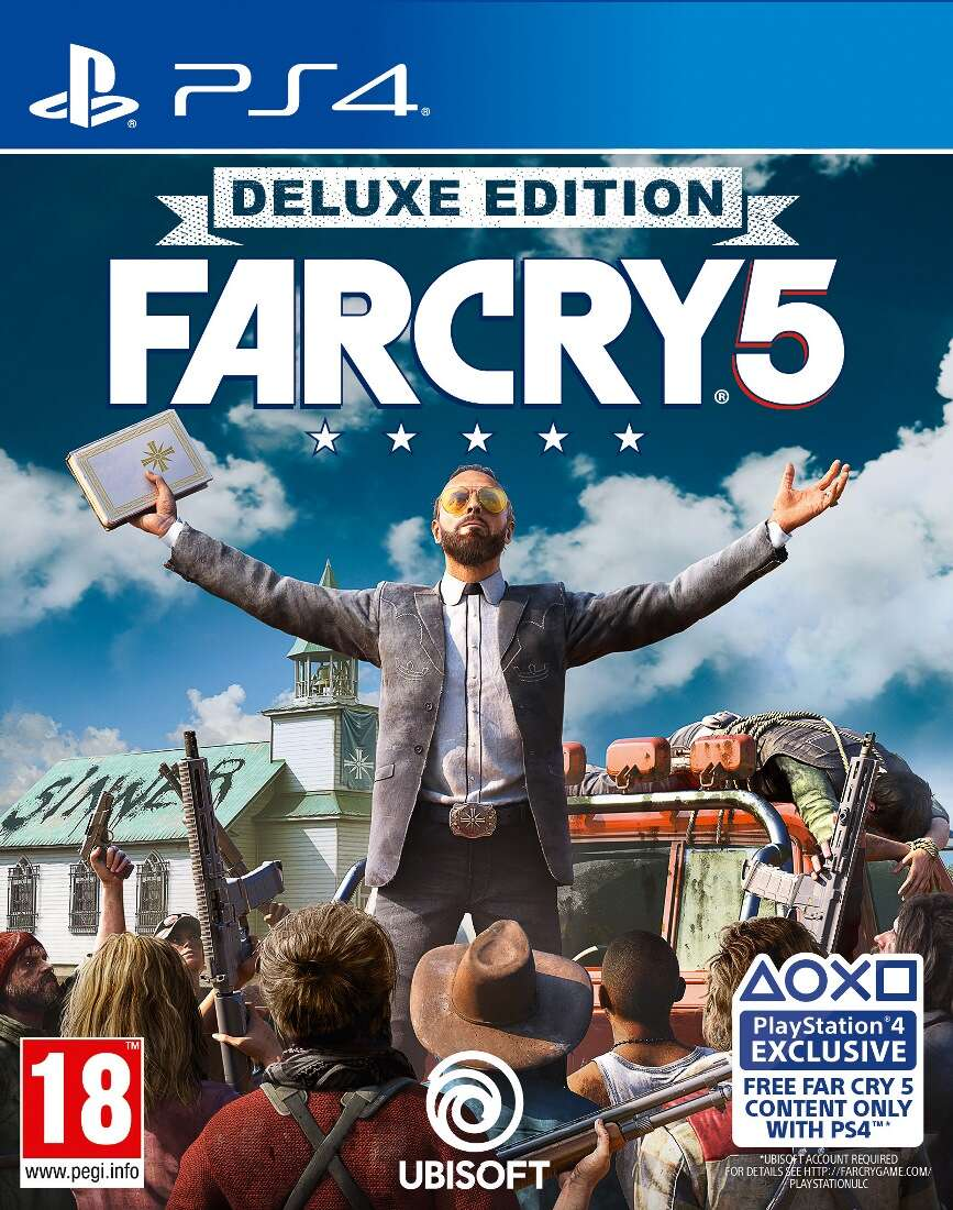 Игра PS4 Far Cry 5 Deluxe Edition