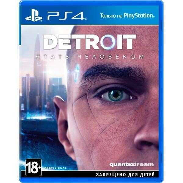 Игра для косноли PS4 Detroit Стать человеком