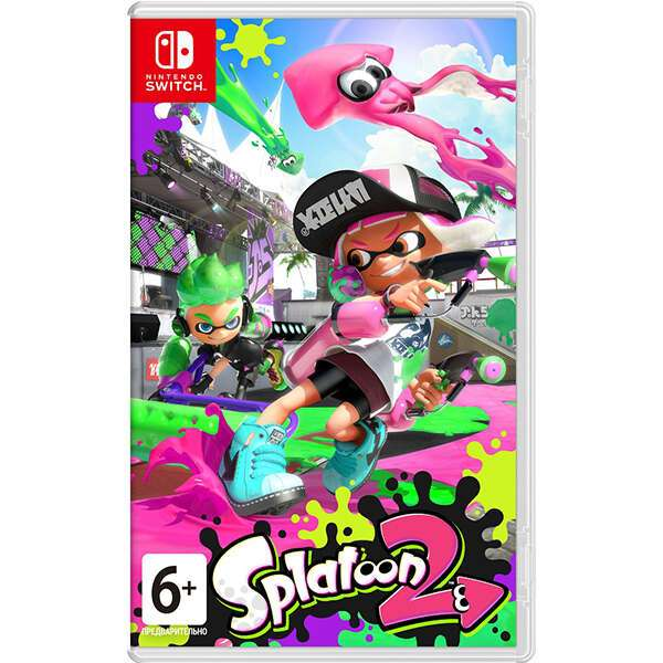 Игра для консоли Nintendo Switch Splatoon 2