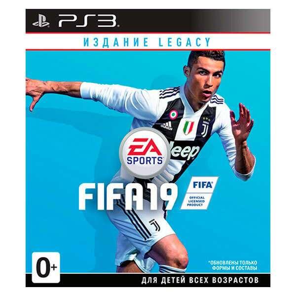 Игра для консоли PS3 FIFA 19 Legacy Edition