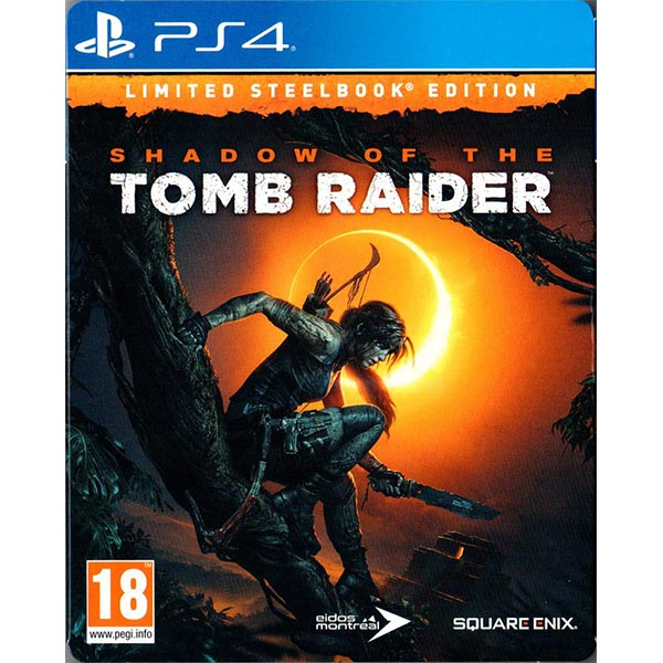 Игра для консоли PS4 Shadow of the Tomb Raider