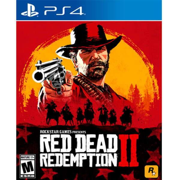 Игра для консоли PS4 Red Dead Redemption 2
