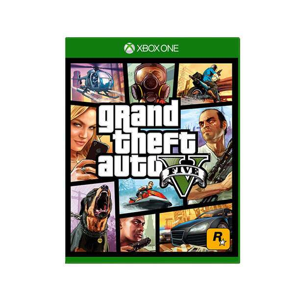 Игра X-Box One Grand Theft Auto V