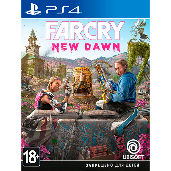Игра для консоли PS4 Far Cry New Dawn 4630018112721