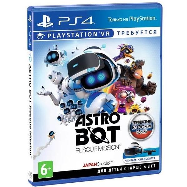Игра для консоли PS4 Astro Bot Rescue Mission VR