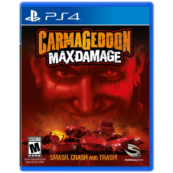 Игра для консоли PS4 Carmageddon Max Damage