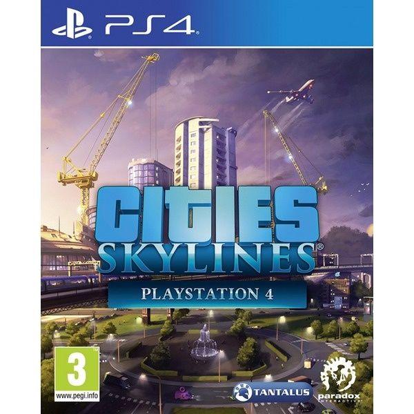 Игра для консоли PS4 Cities Skylines