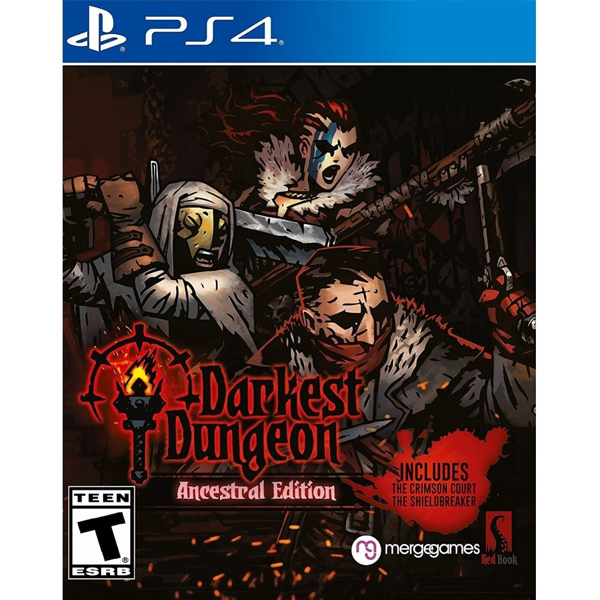 Игра для консоли PS4 Darkest Dungeon