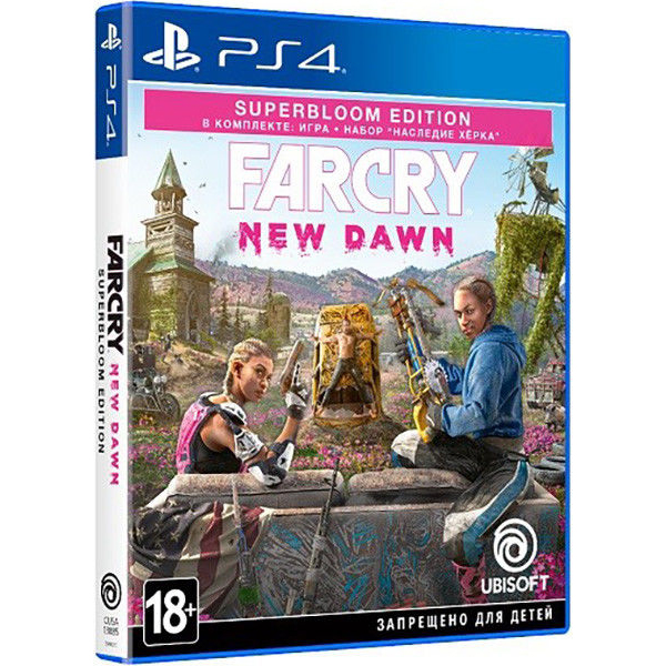 Игра для консоли PS4 Far Cry New Dawn Superbloom Edition