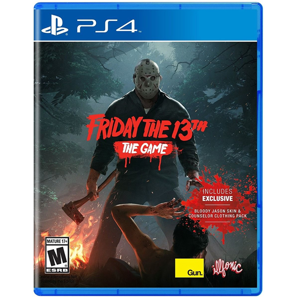 Игра для консоли PS4 Friday The 13th The Game