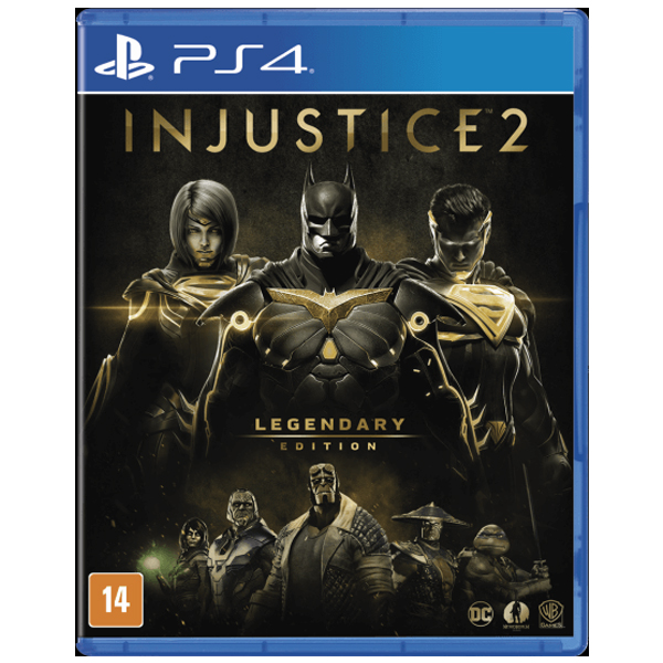Игра для консоли PS4 Injustice 2 Legendary Edition