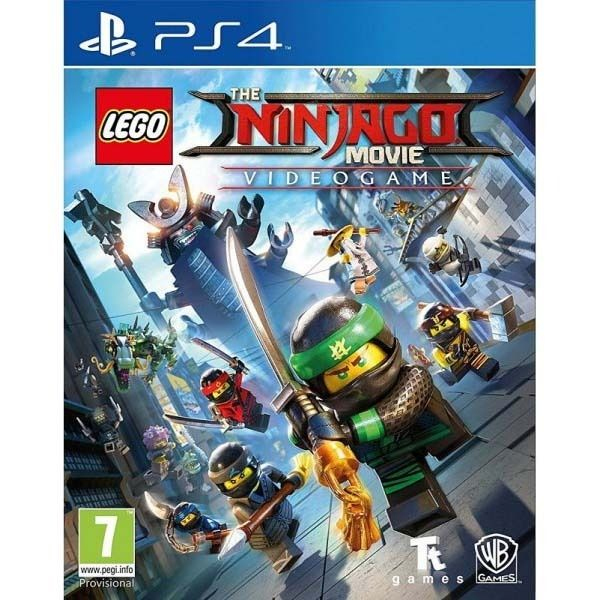 Игра для консоли PS4 LEGO Ниндзяго Фильм Видеоигра