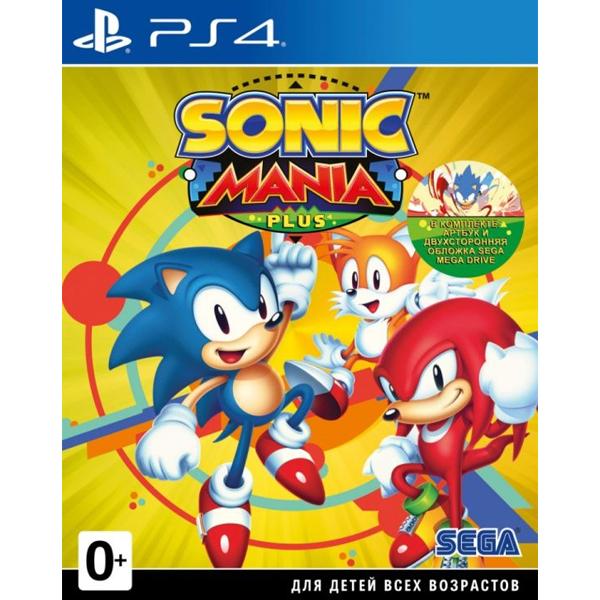 Игра для консоли PS4 Sonic Mania Plus