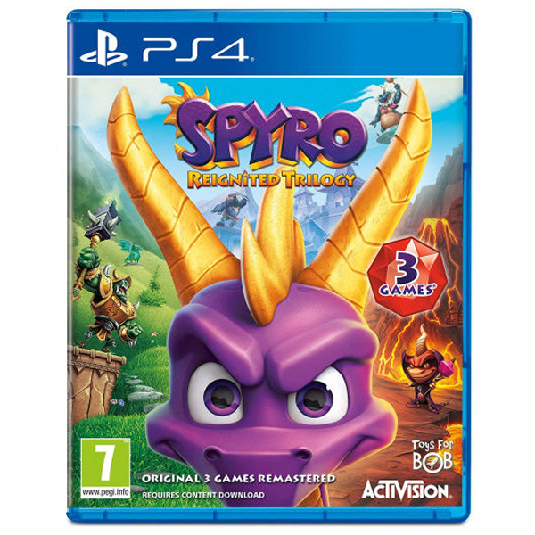 Игра для консоли PS4 Spyro Reignited Trilogy