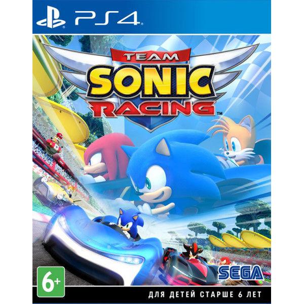 Игра для консоли PS4 Team Sonic Racing
