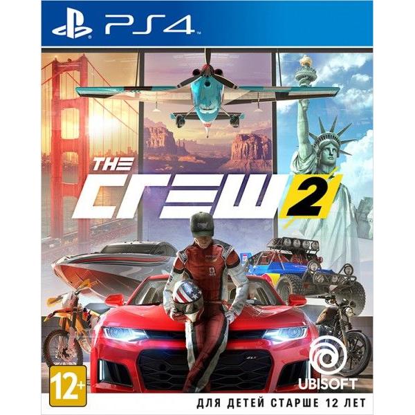 Игра для консоли PS4 The Crew 2