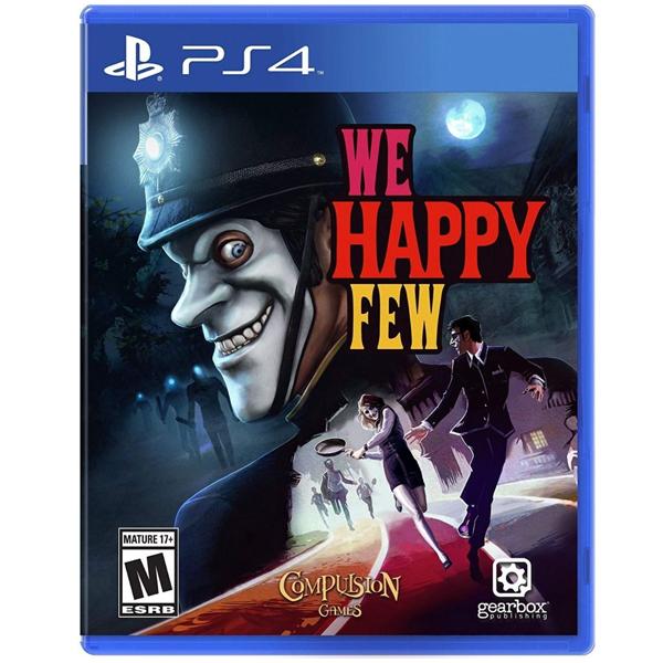 Игра для консоли PS4 We Happy Few