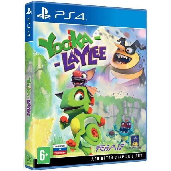 Игра для консоли PS4 Yooka-Laylee