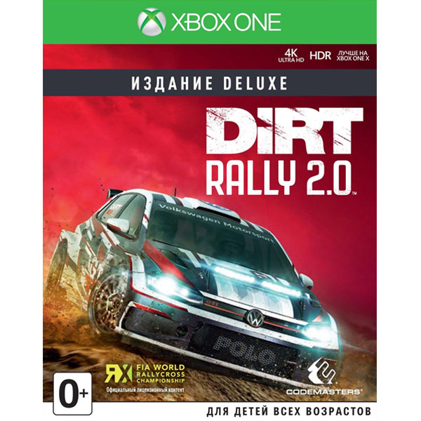 Игра для консоли Xbox One Dirt Rally 2.0 Deluxe Edition