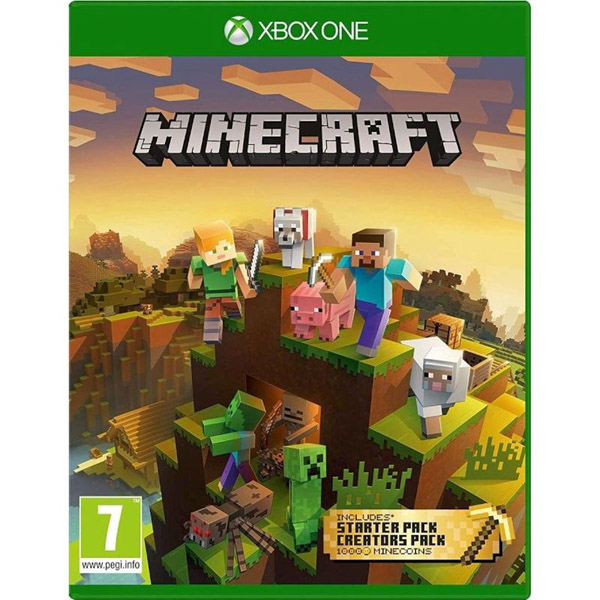 Игра для консоли Xbox One Minecraft Master Collection