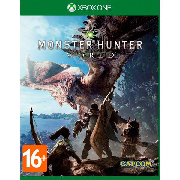 Игра для консоли Xbox One Monster Hunter World
