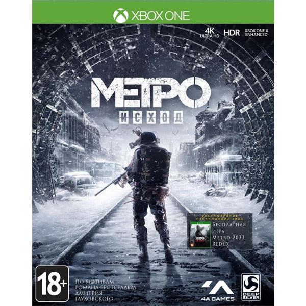 Игра для консоли Xbox One Метро Исход/Metro Exodus
