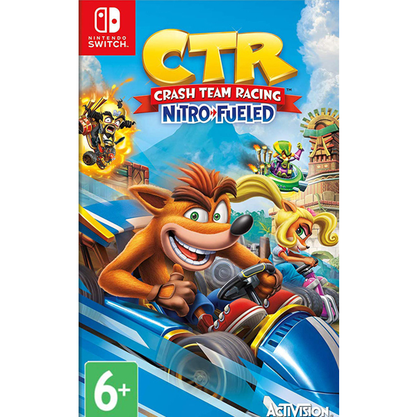 Игра для консоли Nintendo Crash Team Racing Nitro-Fueled NS